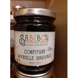 confiture myrtille sauvage bio